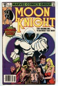 MOON KNIGHT #1 1ST ISSUE comic book - 1988 Marvel