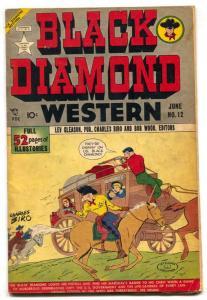 Black Diamond Western #12 1949- Golden Age comic VG+