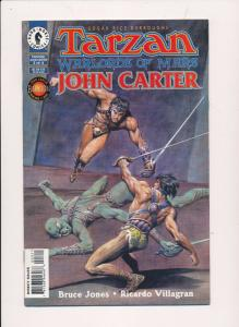 Tarzan Warlords of Mars John Carter #3 Dark Horse Comics ~ NM HX295)
