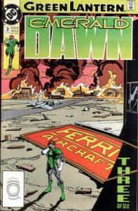 Green Lantern: Emerald Dawn #3, NM (Stock photo)
