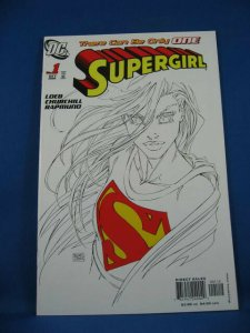 SUPERGIRL 1 NM Variant Cover 2005