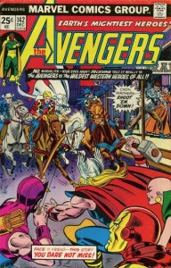 AVENGERS #142 (NG) stock photo