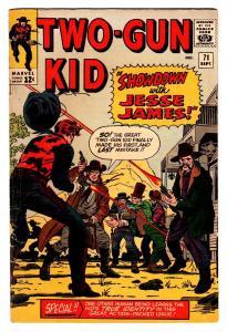 TWO-GUN KID #71 1964-MARVEL JACK KIRBY-SECRET IDENTITY REVEAL-vg