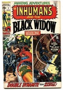 Amazing Adventures #1 1970- Inhumans - Black Widow- Marvel  VG