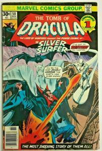 TOMB OF DRACULA#50 FN 1976 MARVEL BRONZE AGE COMICS
