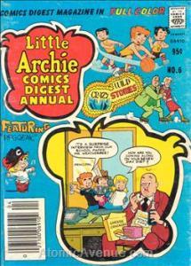 Archie LITTLE ARCHIE COMICS DIGEST MAGAZINE #6 VG
