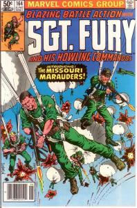 SERGEANT FURY 164 VF-NM June 1981 COMICS BOOK