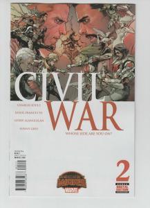 CIVIL WAR (2015 MARVEL) #2