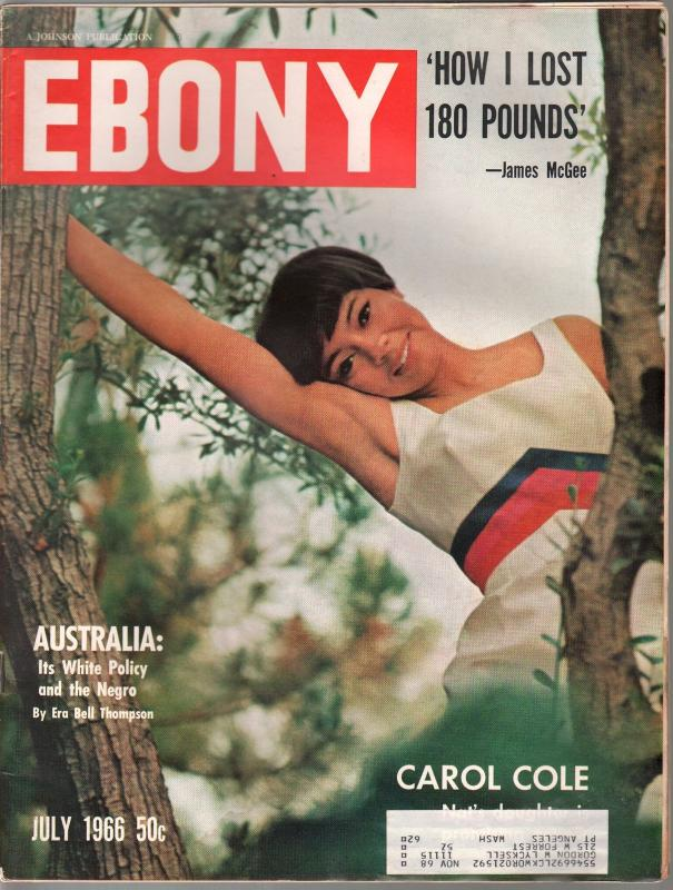 Ebony 27/1966-Australia's White Policy & the Negro-Carol Cole-FN