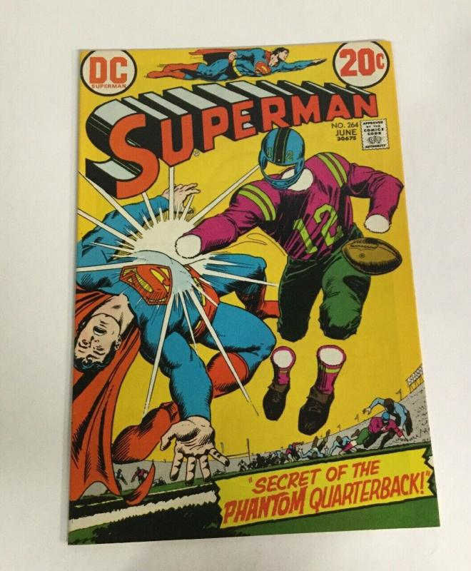 Superman 264 Nm Near Mint Dc Comcs Bronze Age
