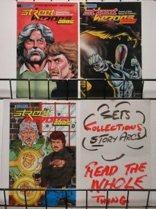 STREET HEROES 2005 (1989 ET) 1-3 VG-F THE SET!