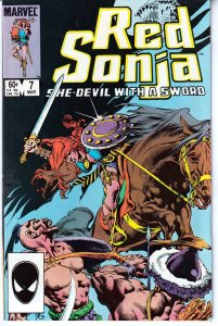 Red Sonja(Marvel, vol.3) # 7 The Coming of the Harvest