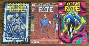 LOT OF 3 DOCTOR FATE TPB THE BLOOD PRICE PRISONERS OF PAST FATEFUL THREADS DR