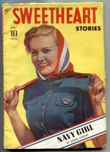 Sweetheart Stories Pulp April 1941- Navy Girl by Doris Knight FN