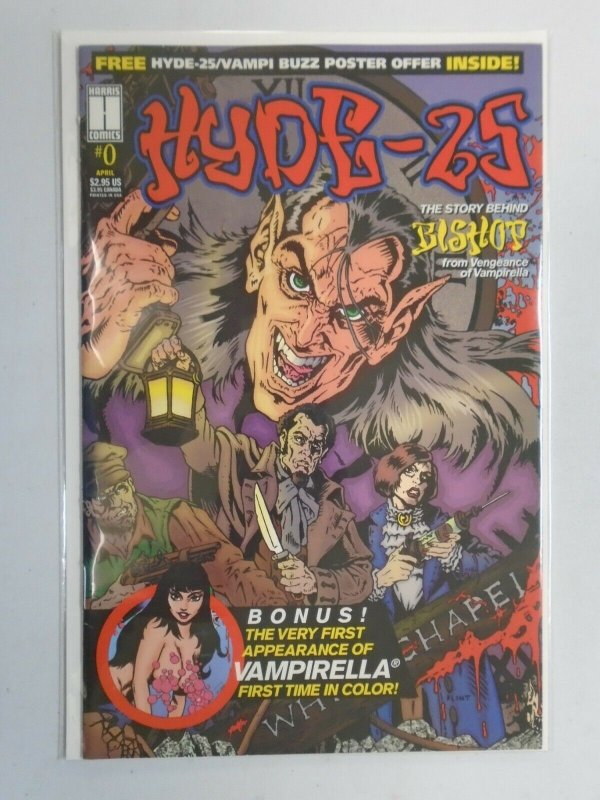 Hyde-25 #0 Reprint of Vampirella's 1st appearance in colour 8.0 VF (1995 Avatar)