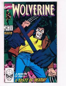 Wolverine #26 VF Marvel Comics Comic Book X Men July 1990 DE24