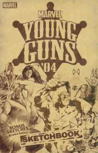 Young Guns Sketchbook #1 VF/NM; Marvel   save on shipping - details inside