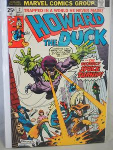 Howard the Duck 2 VF/NM Unread The Deadly Space Turnip