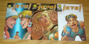 Java! #1-3 VF/NM complete series - in the year 2073, coffee is serious business