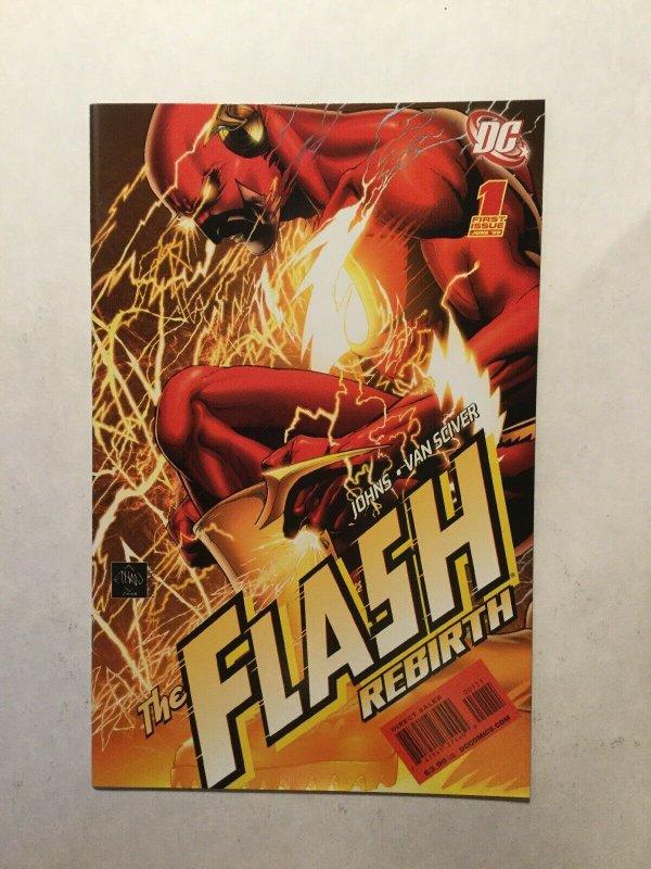 Flash Rebirth 1 2009 Near Mint Nm Dc Comics