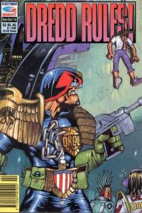 Dredd Rules #16, VF+ (Stock photo)