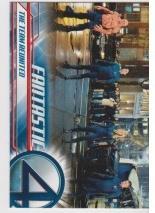 2005 Upper Deck Fantastic Four Movie THE TEAM REUNITED #11