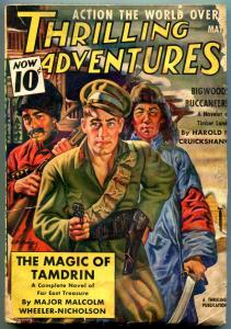 Thrilling Adventures Pulp May 1939- Major Malcolm Wheeler-Nicholson- VG