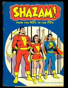Shazam From The 40's To The 70's Harmony Books HARDCOVER Graphic Novel 1977 NE3