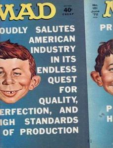 Mad (1952 series) #151, Fine+ (Stock photo)