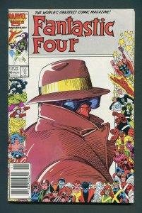 Fantastic Four #296 / 9.4 NM /  Newsstand / November 1986