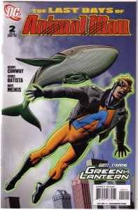 Last Days of Animal Man (2009) #2 of 6 VF Conway/Batista, Bolland cover