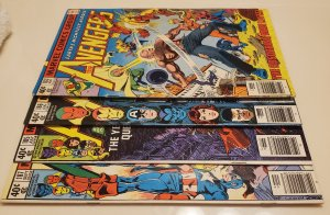 The Avengers - 4 issue lot #183,185,186 & 187 (1978)