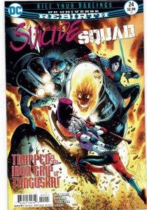 Suicide Squad #24 (2016 v4) Harley Quinn NM