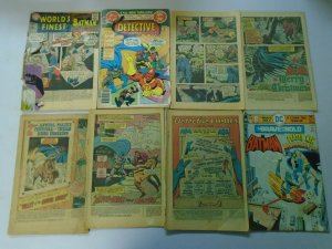 Silver + Bronze age Batman readers comic lot 37 different issues