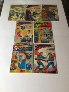 Superman 169 178 190 192 193 197 196 2.0-3.5 Good - Very Good-