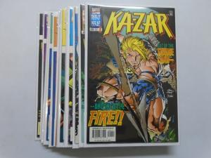 Ka-Zar (3rd Series), SET:#1-14, 8.0/VF, DIRECT EDITION (1997)