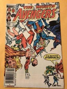 THE AVENGERS #248 : Marvel 10/84 Fn+; Eternals story, Newsstand