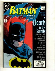 Lot Of 4 Batman DC Comic Books # 426 427 428 429 NM Range Death Of Robin GK5