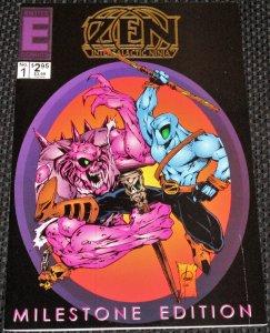 Zen Intergalactic Ninja: Milestone #1