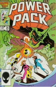 Power Pack (1984 series) #25, VF+ (Stock photo)