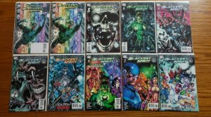 Blackest Night 1-8 + FCBD Variant Complete Set Run! ~ NEAR MINT NM ~ 2009 DC