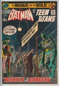Brave and the Bold, The #94 (Mar-71) VF High-Grade Batman, Teen Titans