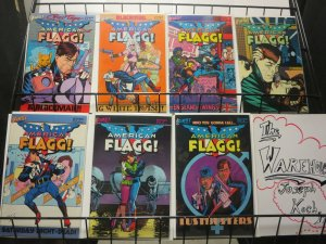 AMERICAN FLAGG (1983-1988 FIRST) 21-27  ALAN MOORE