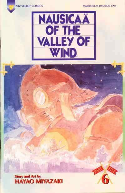Nausicaä of the Valley of Wind Part 5 #6 VF/NM; Viz | save on shipping - details