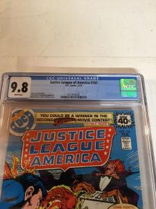 Justice League Of America 163 Cgc 9.8 White Pages Gerry Conway Story