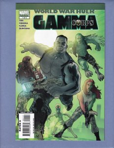 World War Hulk Gamma Corps #1 NM- Marvel 2007