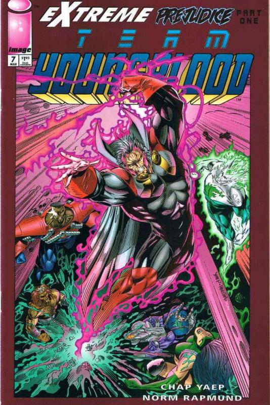 Team Youngblood #7 VF/NM; Image | save on shipping - details inside