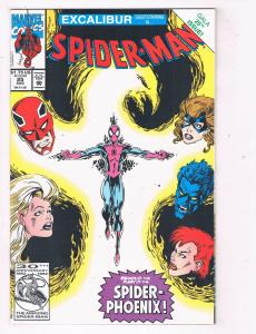 Spider-Man (1990) #25 Marvel Comic Book Excalibur Nightmare D'Spayre HH3