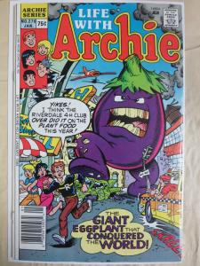 Life with Archie #270 (1988) Earliest Work + Autographed by Jeff Schultz