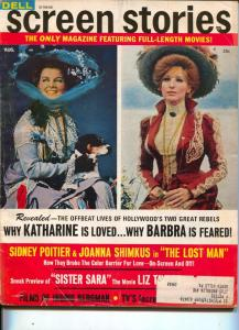 Screen Stories-Katherine Hepburn-Barbra Streisand-Clint Eastwood-Gregory Peck-Au